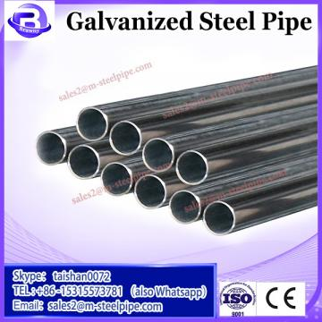Lathe thread hot dipped galvanized steel pipe with pipe clamp