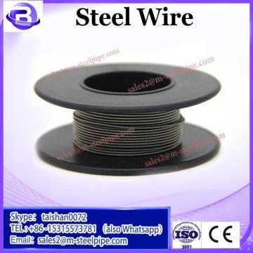 7*19 electro galvanized steel wire rope for crane