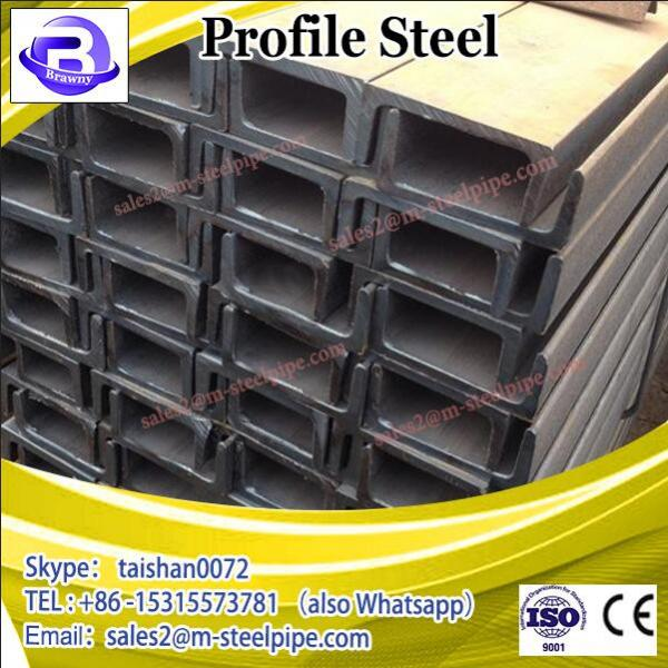 Galvanized structural steel profiles, thick wall square hollow section galvanised square tube 40x40 #2 image