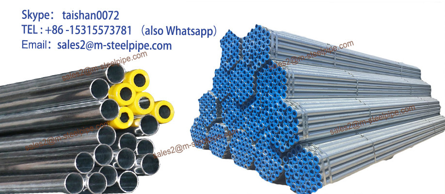 ERW Galvanized Steel Pipe for Structure Liquid Transportation