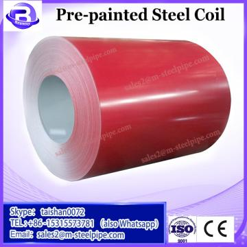 Various thickness and width PPGI pre-painted galvanized steel coils