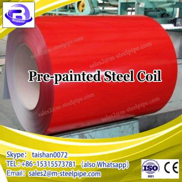 Shandong factory cold rolled steel coil price pre-painted galvanized steel coil made in China