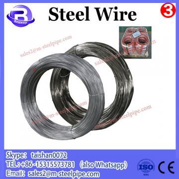 Hot dip galvanized tempered steel wire