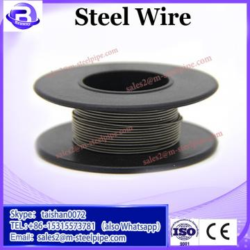 Hot galvanized oval steel wire for Brazil Market