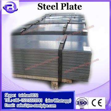 ST37 ASTM A36 Checkered Steel Plate 10mm Thick Black or Silver Color