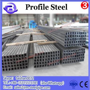 Plastic middle diameter rectangular profile galvanized tube 3 with low price