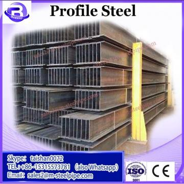 sizes of hollow section square profile steel tubing