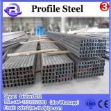 Oiled Low Carbon steel LTZ Profile Steel Pipe