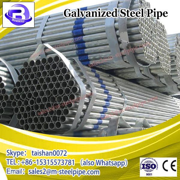 Hot dip galvanized steel pipe gi pipe scaffolding pipe #2 image