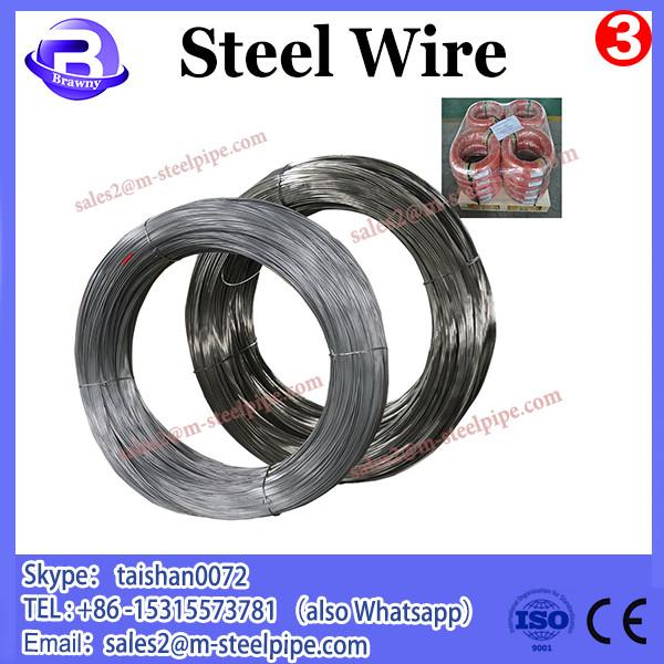 high quality black/hot-dip galvanized steel wire/SAE1006 & SAE1008 steel wire 11 #3 image